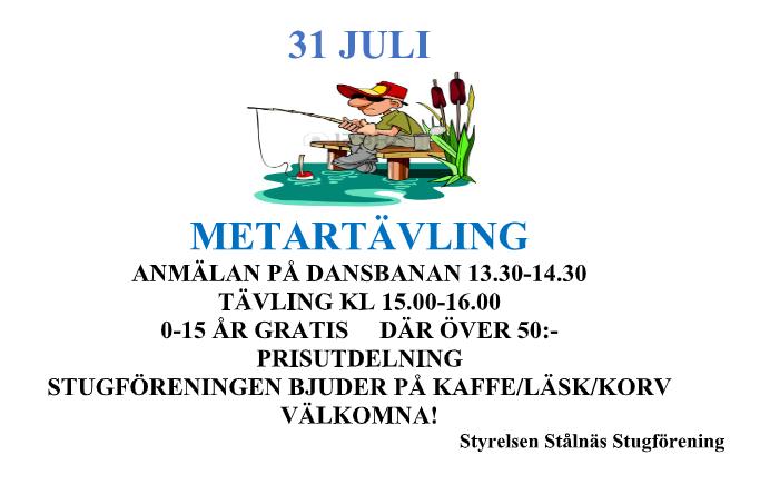 Metartävling 2021-07-31